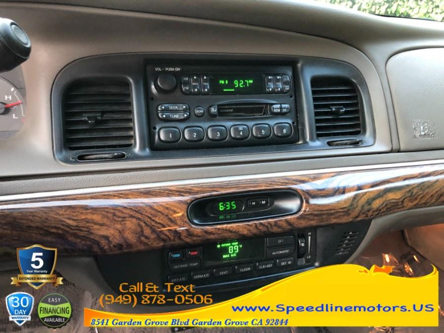 Used Mercury Grand Marquis 4dr Sdn LS 1999 | Speedline Motors. Garden Grove, California