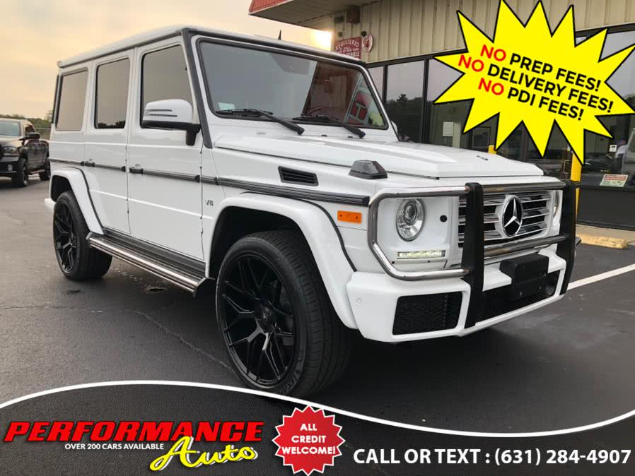 Used Mercedes-Benz G-Class 4MATIC 4dr G 550 2016 | Performance Auto Inc. Bohemia, New York