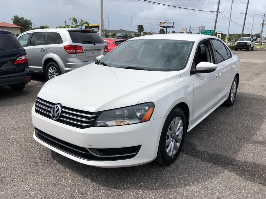 Used Volkswagen Passat 4dr Sdn 2.5L Auto S w/Appearance 2012 | Central florida Auto Trader. Kissimmee, Florida