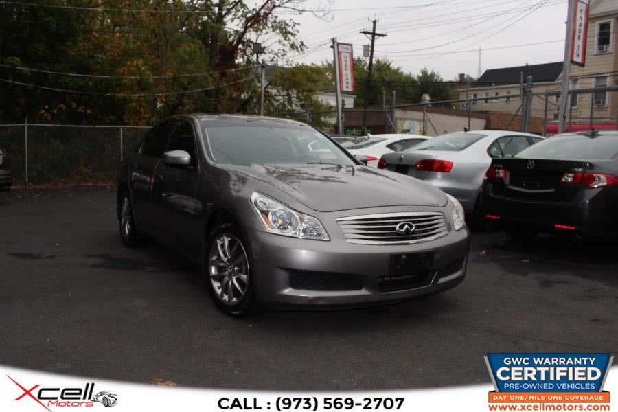 Used 2009 Infiniti G37x Sedan AWD in Paterson, New Jersey | Xcell Motors LLC. Paterson, New Jersey