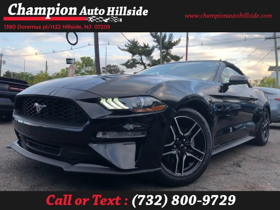 Used 2020 Ford Mustang in Hillside, New Jersey | Champion Auto Sales. Hillside, New Jersey