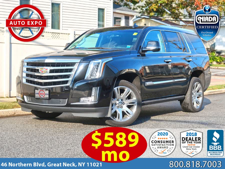 Used 2017 Cadillac Escalade in Great Neck, New York | Auto Expo Ent Inc.. Great Neck, New York