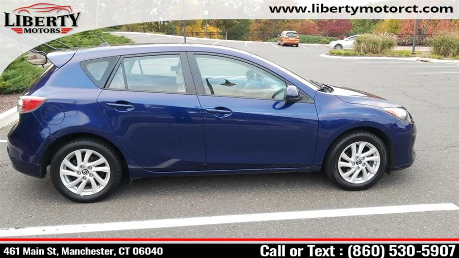 Used Mazda MAZDA3 I TOURING 4DRHB 2013 | Liberty Motors. Manchester, Connecticut