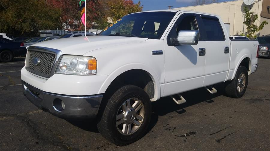 """2007 Ford F-150 4WD SuperCrew 139"""" Lariat, available for sale in West Haven, CT"""