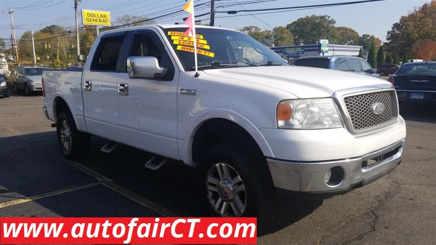 "Used Ford F-150 4WD SuperCrew 139"" Lariat 2007"