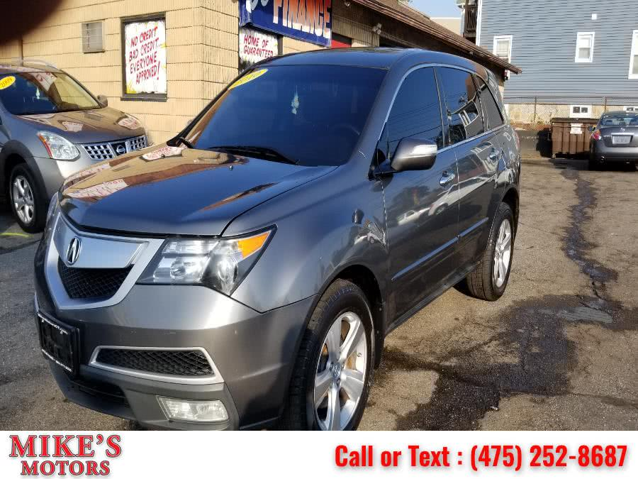 Used Acura MDX AWD 4dr Technology/Entertainment Pkg 2010 | Mike's Motors LLC. Stratford, Connecticut