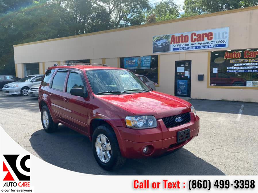 Used Ford Escape 4dr 3.0L Limited 4WD 2006 | Auto Care Motors. Vernon , Connecticut