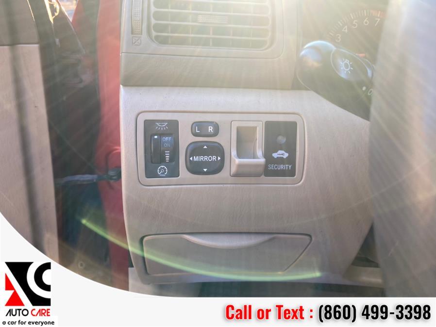 Used Toyota Corolla 4dr Sdn CE Auto 2005 | Auto Care Motors. Vernon , Connecticut