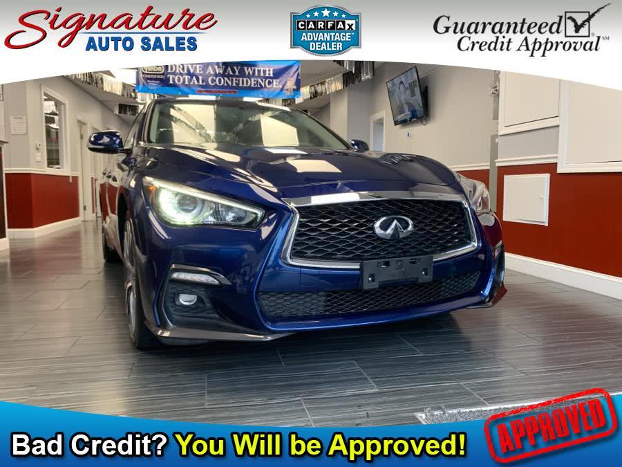 Used INFINITI Q50 3.0t Sport  AWD 2018 | Signature Auto Sales. Franklin Square, New York