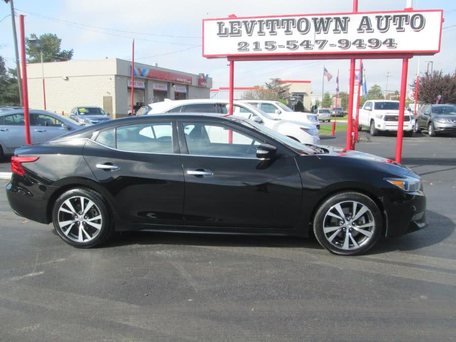 Used 2016 Nissan Maxima in Levittown, Pennsylvania | Levittown Auto. Levittown, Pennsylvania