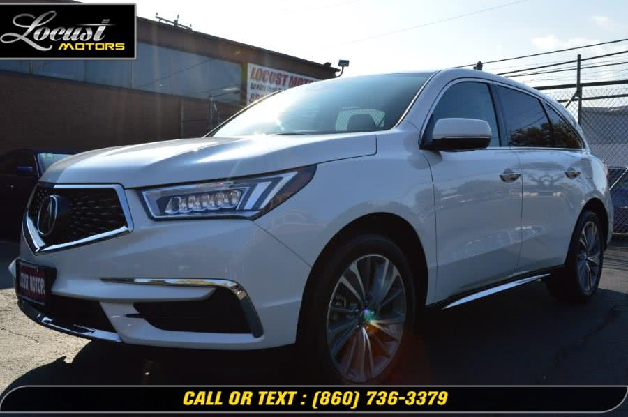 Used 2018 Acura MDX in Hartford, Connecticut | Locust Motors LLC. Hartford, Connecticut