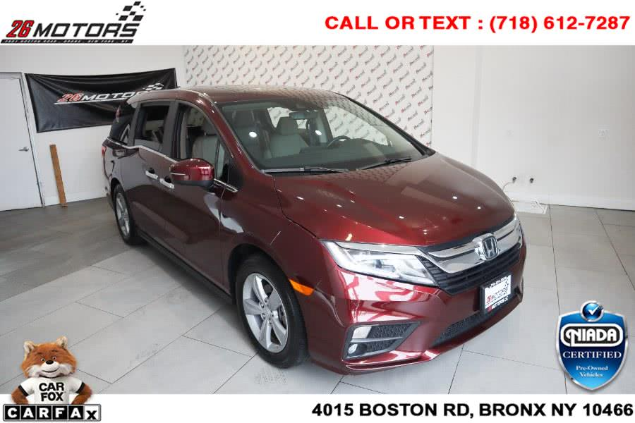 Used Honda Odyssey EX-L Auto 2018 | 26 Motors Corp. Bronx, New York