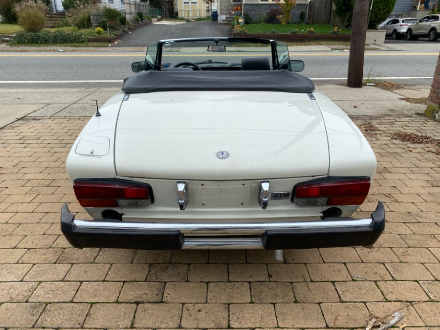 Used FIAT Spider 2000 Pininfarina 2.0L 1983 | Cars With Deals. Lyndhurst, New Jersey