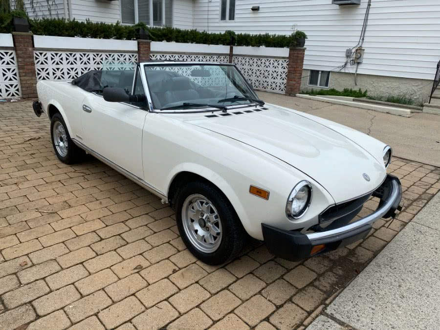 1983 FIAT Spider 2000 Pininfarina 2.0L, available for sale in Lyndhurst, NJ