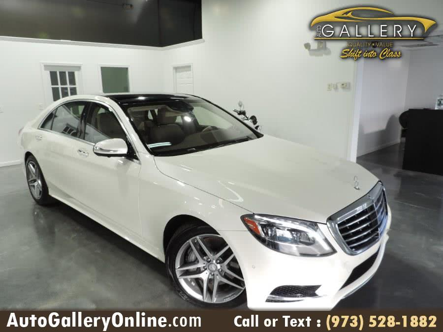 Used Mercedes-Benz S-Class 4dr Sdn S550 4MATIC 2014 | Auto Gallery. Lodi, New Jersey