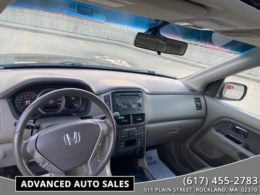 Used Honda Pilot 4WD 4dr EXL 2007 | Advanced Auto Sales. Rockland, Massachusetts