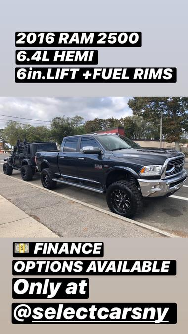 """Used Ram 2500 4WD Crew Cab 149"""" Longhorn Limited 2016 