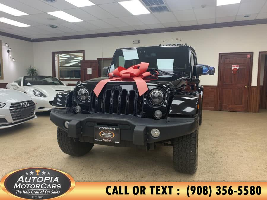 Used 2016 Jeep Wrangler Unlimited in Union, New Jersey | Autopia Motorcars Inc. Union, New Jersey