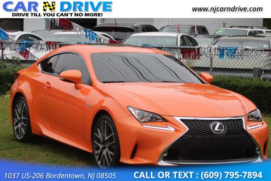 Used Lexus Rc 350 RWD 2015 | Car N Drive. Bordentown, New Jersey