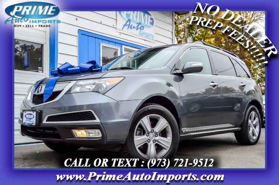 Used 2012 Acura MDX in Bloomingdale, New Jersey | Prime Auto Imports. Bloomingdale, New Jersey