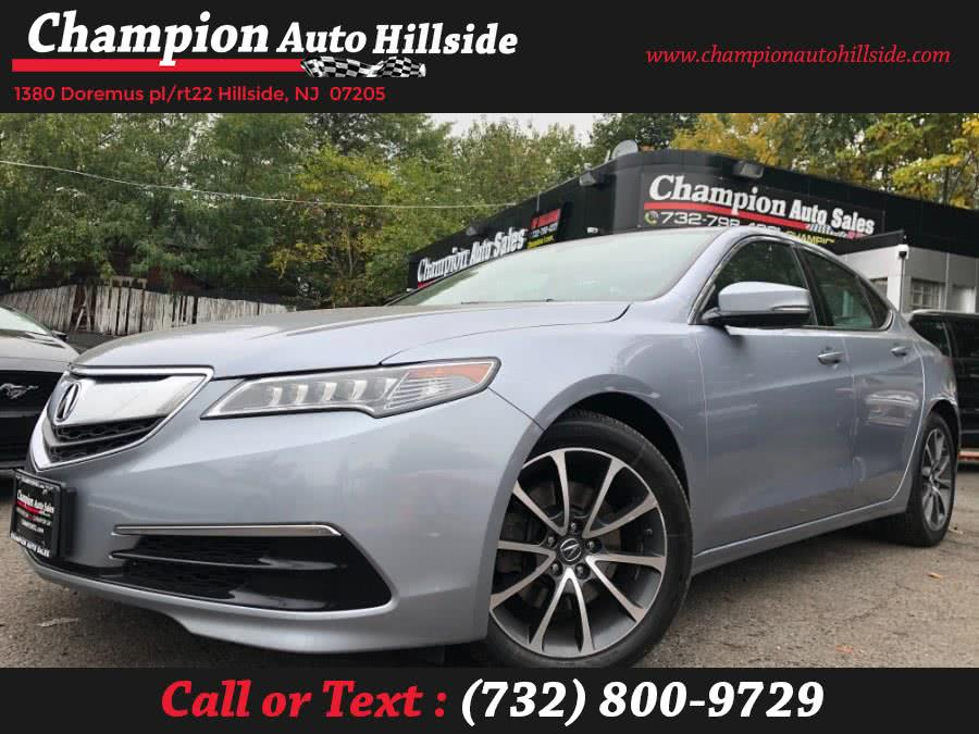 Used 2015 Acura TLX in Hillside, New Jersey | Champion Auto Hillside. Hillside, New Jersey