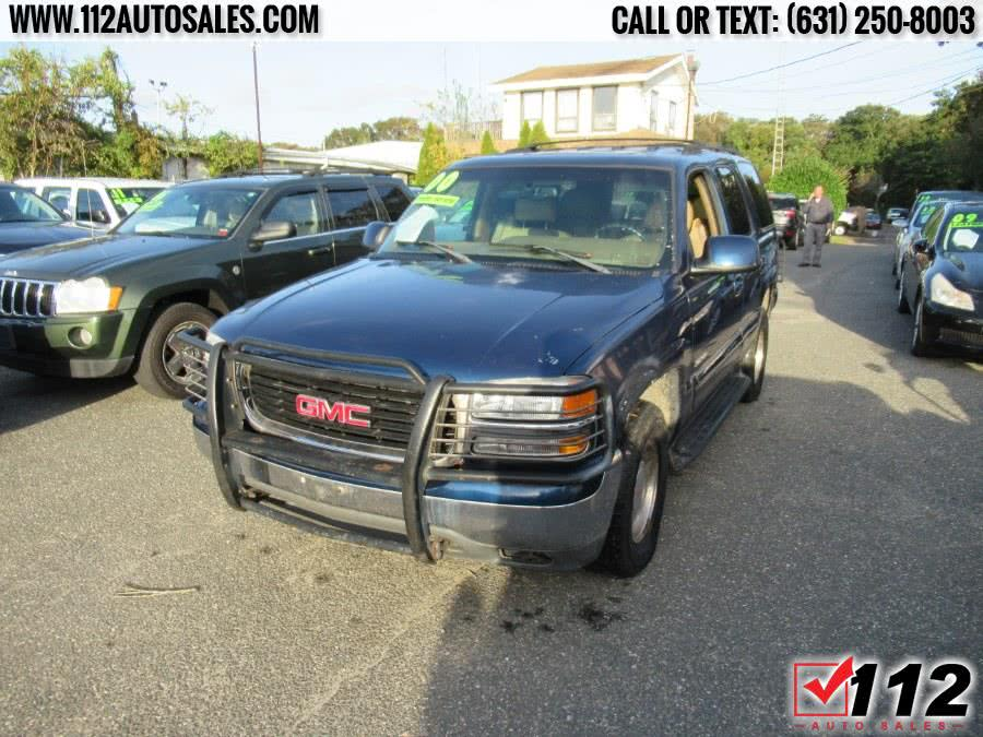 Used GMC Yukon 4dr 4WD SLT 2000 | 112 Auto Sales. Patchogue, New York