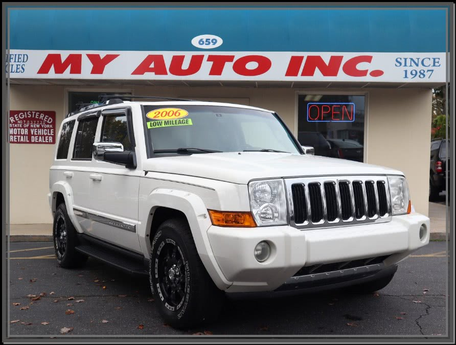 Used 2006 Jeep Commander in Huntington Station, New York | My Auto Inc.. Huntington Station, New York