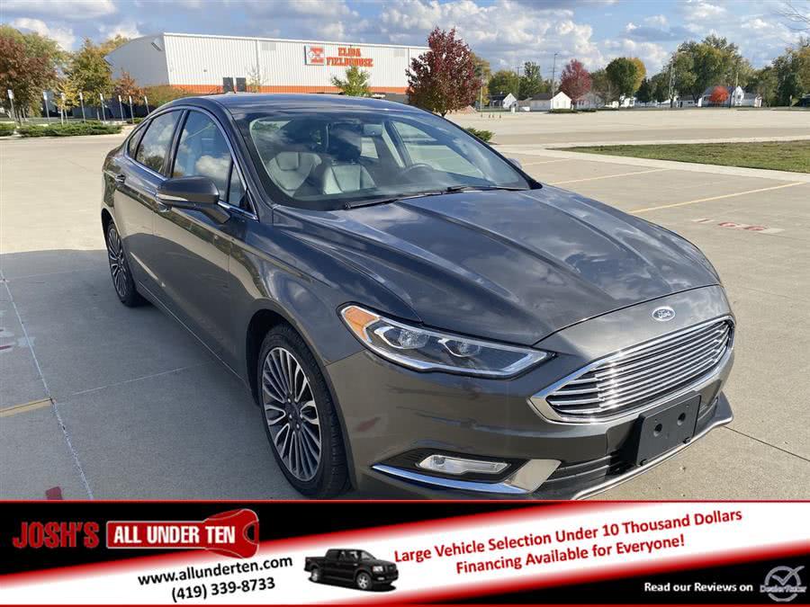 Used 2017 Ford Fusion in Elida, Ohio | Josh's All Under Ten LLC. Elida, Ohio