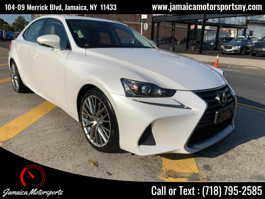 Used 2017 Lexus IS in Jamaica, New York | Jamaica Motor Sports . Jamaica, New York
