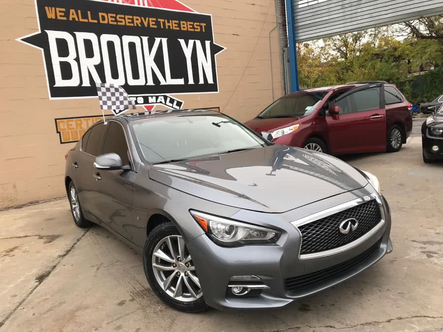 Used INFINITI Q50 4dr Sdn Premium AWD 2015 | Brooklyn Auto Mall LLC. Brooklyn, New York