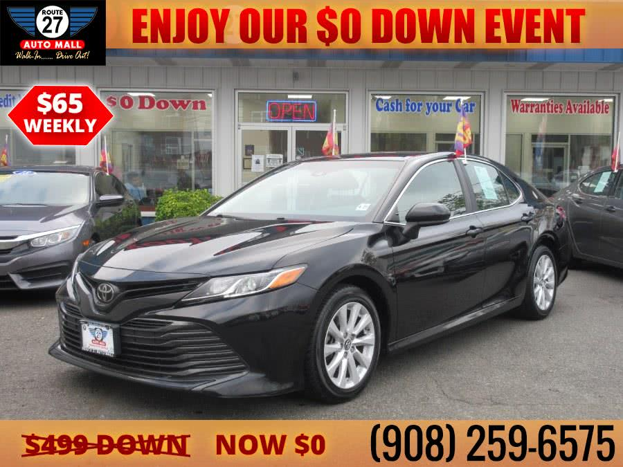 Used 2018 Toyota Camry in Linden, New Jersey | Route 27 Auto Mall. Linden, New Jersey