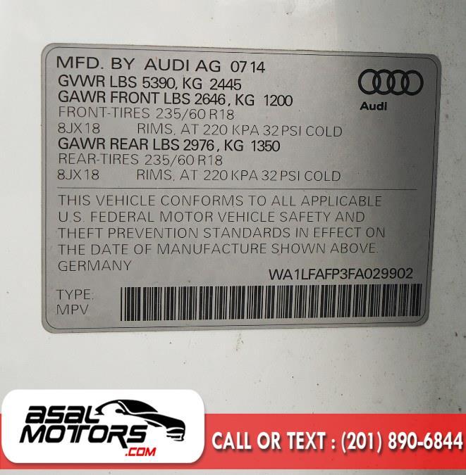 Used Audi Q5 quattro 4dr 2.0T Premium Plus 2015 | Asal Motors. East Rutherford, New Jersey
