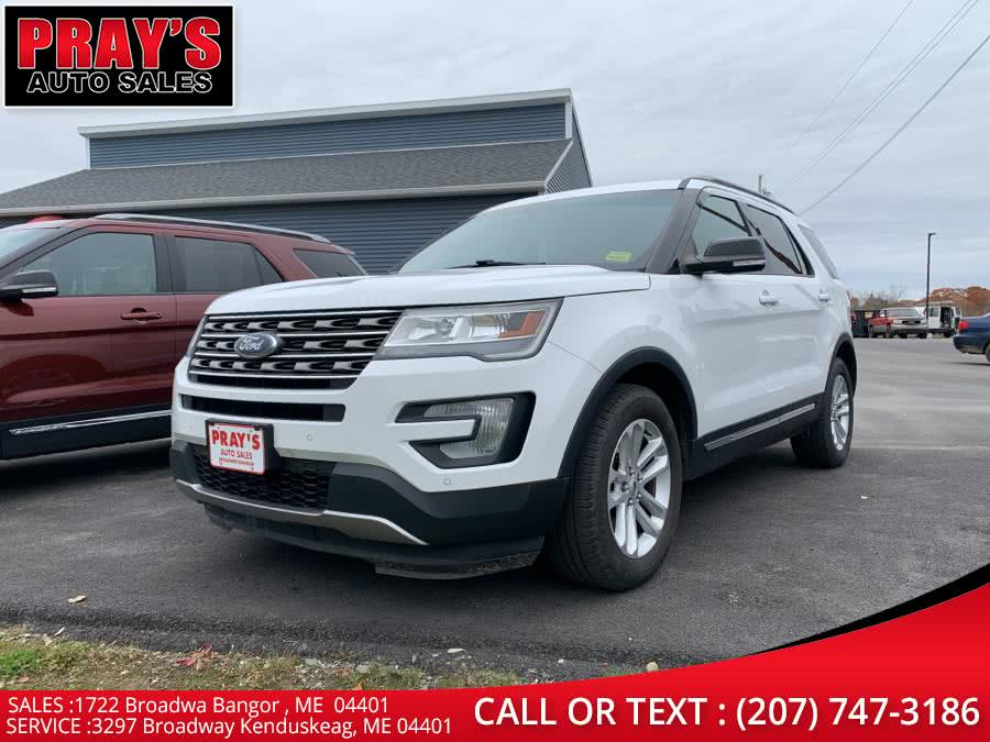 Used Ford Explorer FWD 4dr XLT 2016 | Pray's Auto Sales . Bangor , Maine