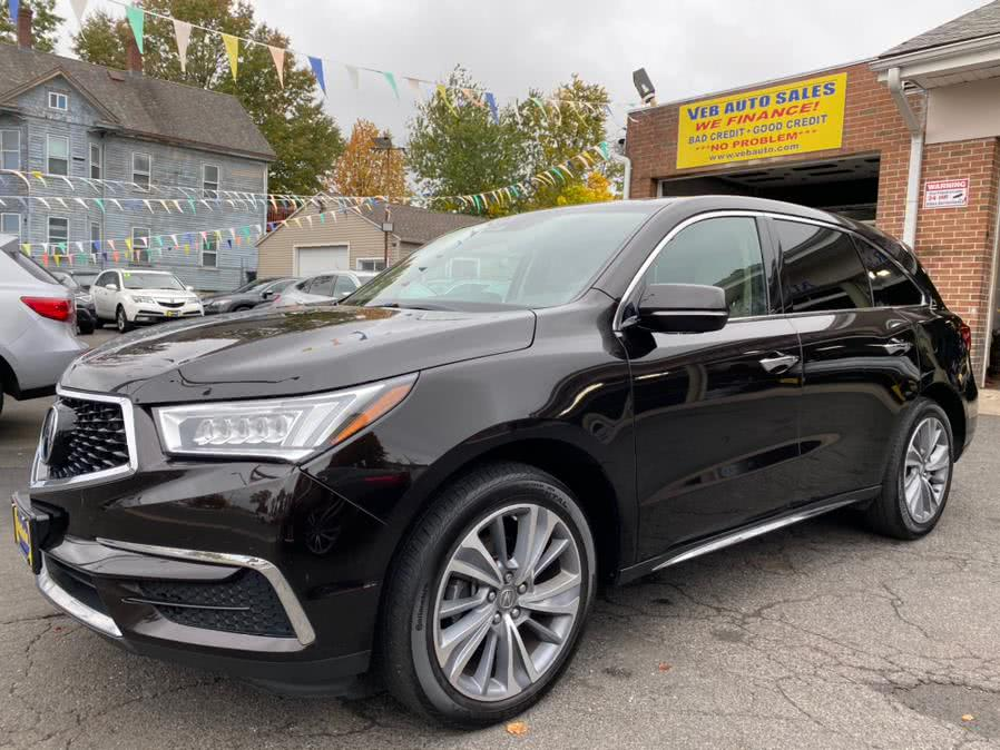 Used Acura MDX SH-AWD w/Technology Pkg 2017 | VEB Auto Sales. Hartford, Connecticut