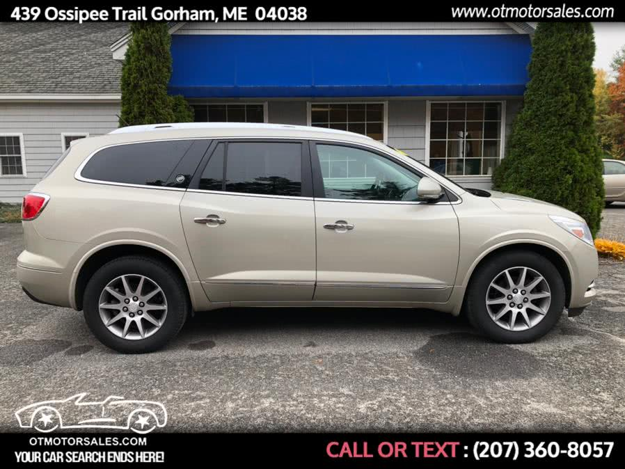 Used 2014 Buick Enclave in Gorham, Maine | Ossipee Trail Motor Sales. Gorham, Maine