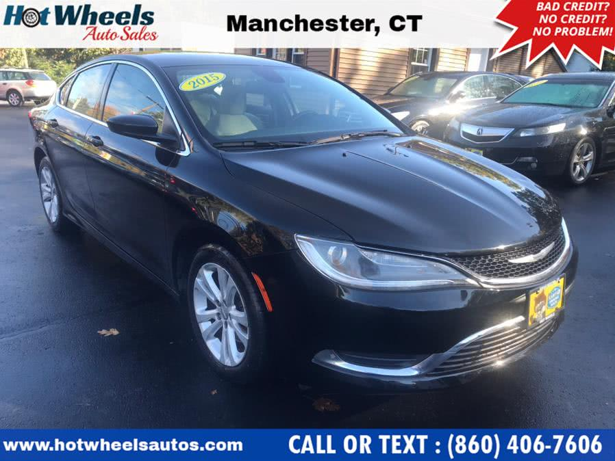 Used 2015 Chrysler 200 in Manchester, Connecticut | Hot Wheels Auto Sales LLC. Manchester, Connecticut