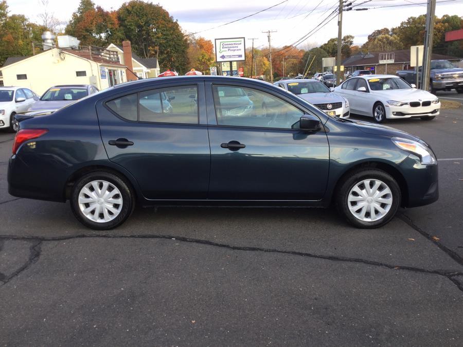 Used Nissan Versa 4dr Sdn Auto 1.6 S 2016   L&S Automotive LLC. Plantsville, Connecticut