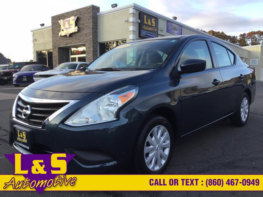 Used 2016 Nissan Versa in Plantsville, Connecticut | L&S Automotive LLC. Plantsville, Connecticut