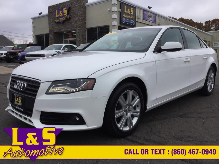 Used 2012 Audi A4 in Plantsville, Connecticut | L&S Automotive LLC. Plantsville, Connecticut