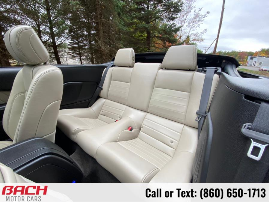 Used Ford Mustang 2dr Conv V6 Premium 2013 | Bach Motor Cars. Canton , Connecticut