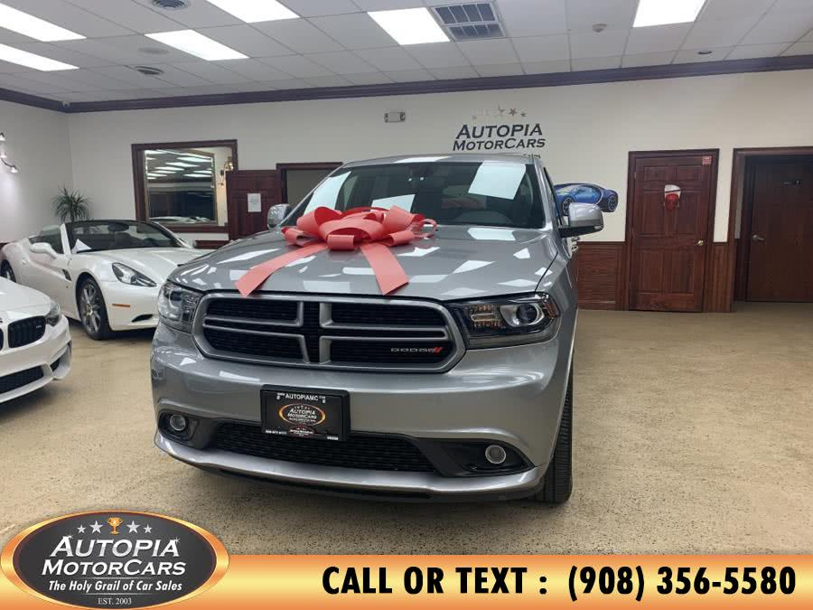 Used Dodge Durango GT AWD 2018 | Autopia Motorcars Inc. Union, New Jersey