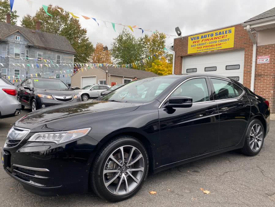 Used Acura TLX FWD V6 w/Technology Pkg 2017 | VEB Auto Sales. Hartford, Connecticut