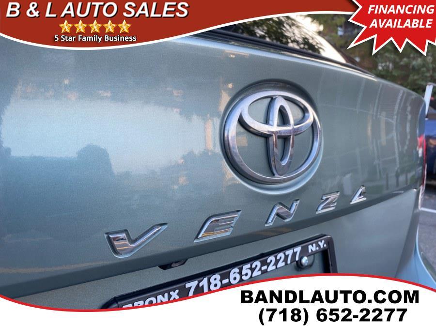 Used Toyota Venza 4dr Limited V6 AWD 2011 | B & L Auto Sales LLC. Bronx, New York