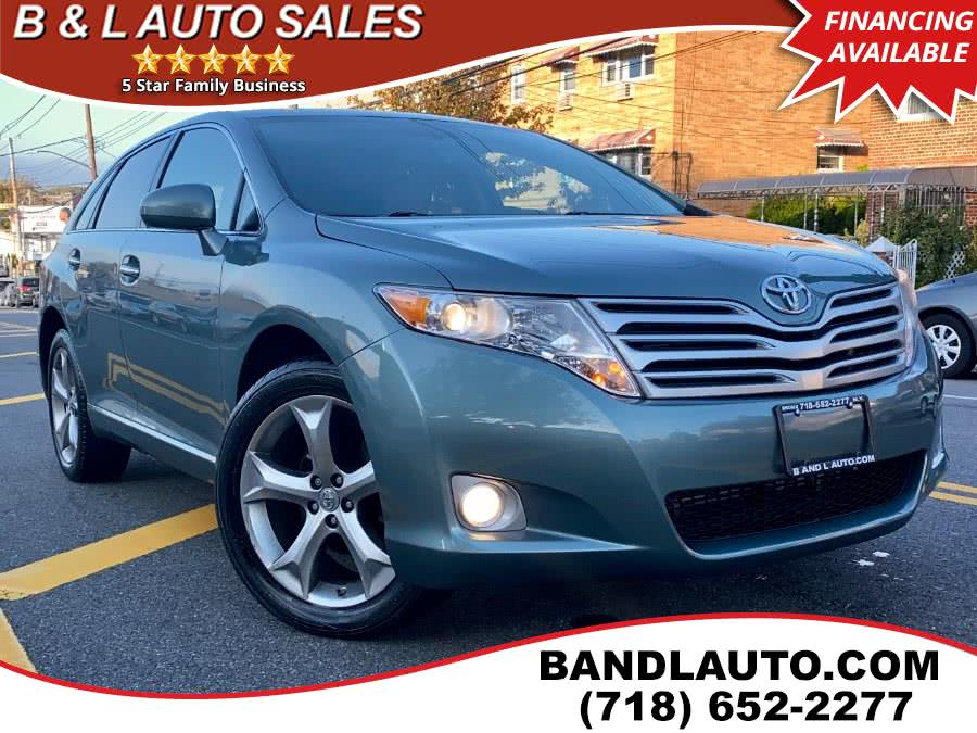 Used Toyota Venza 4dr Limited V6 AWD 2011 | B & L Auto Sales LLC. Bronx, New York