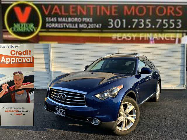 Used 2014 Infiniti Qx70 in Forestville, Maryland | Valentine Motor Company. Forestville, Maryland
