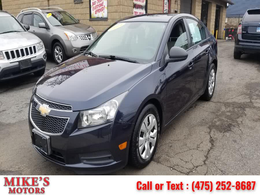 Used 2014 Chevrolet Cruze in Stratford, Connecticut | Mike's Motors LLC. Stratford, Connecticut