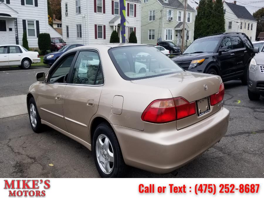 Used Honda Accord Sdn 4dr Sdn EX Auto V6 W/Leather 2000 | Mike's Motors LLC. Stratford, Connecticut