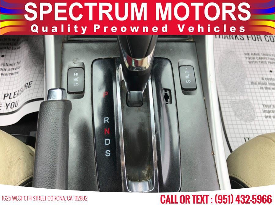 Used Honda Accord Coupe 2dr I4 CVT EX-L w/Navi 2015   Spectrum Motors. Corona, California