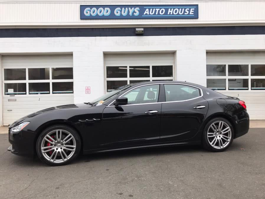 Used Maserati Ghibli 4dr Sdn S Q4 2016 | Good Guys Auto House. Southington, Connecticut