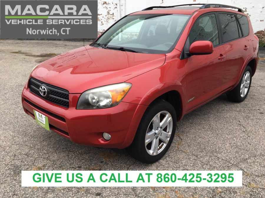 Used Toyota RAV4 4WD 4dr 4-cyl Sport (Natl) 2007 | MACARA Vehicle Services, Inc. Norwich, Connecticut